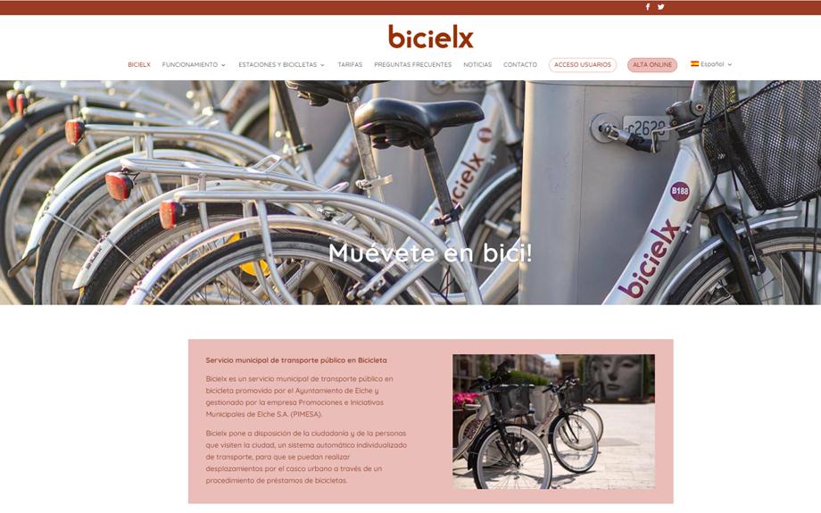 BICIELX estrena nova web