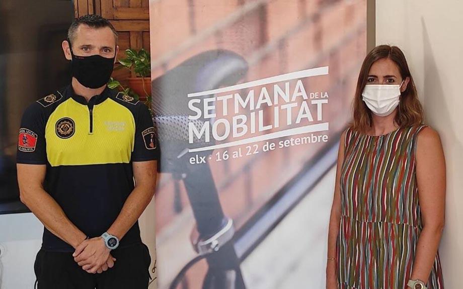 Presentación de la Semana de movilidad por la Concejala Esther Díe